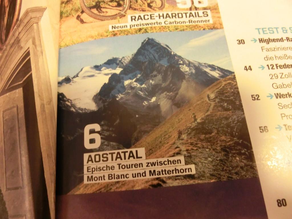Bike-Bericht Aostatal