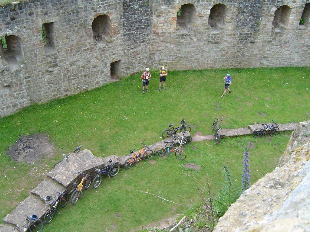 Bikes im Burghof