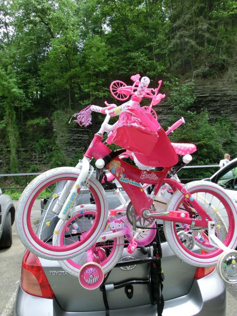 ... oder extrovertiert in pink.