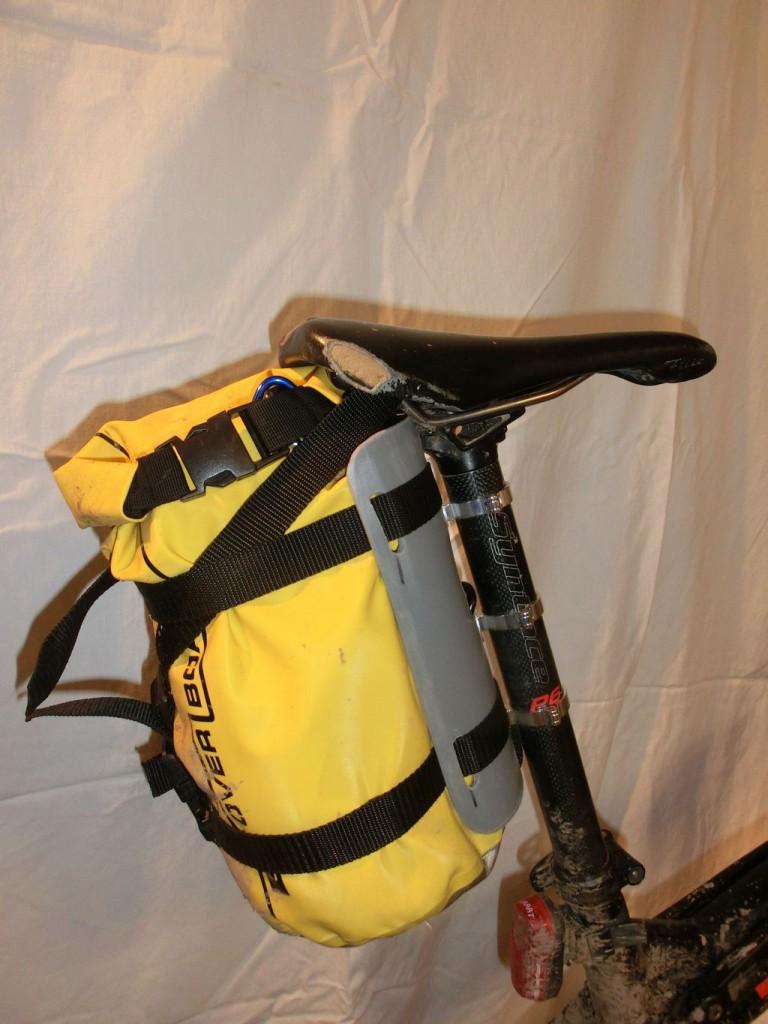 Prototyp Sattelstützentasche