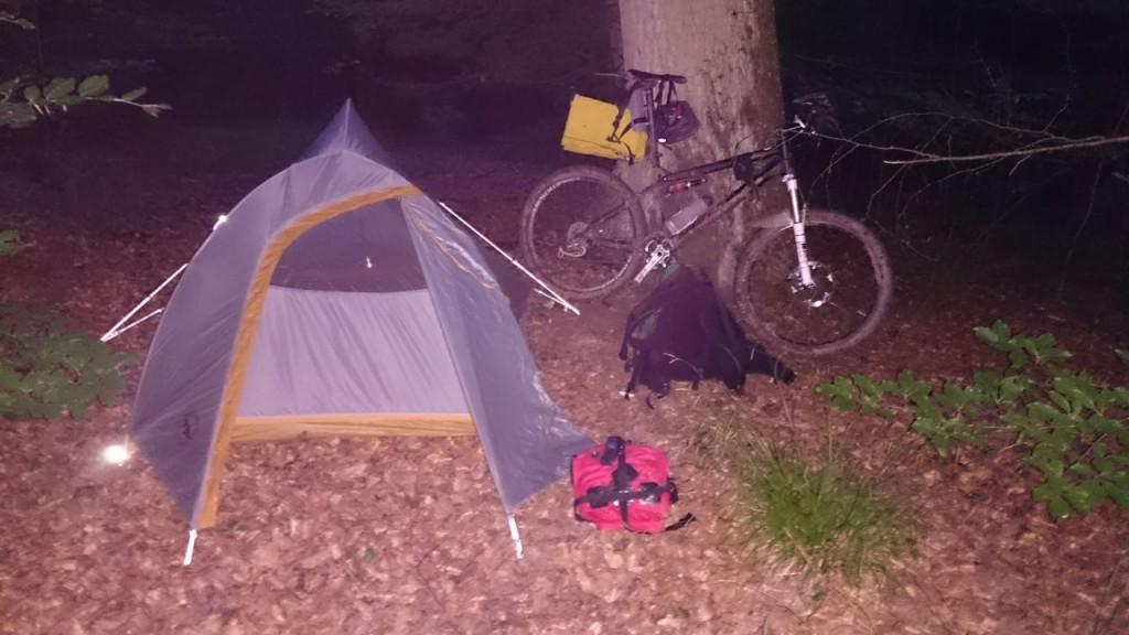 Mein Camp für die Nacht